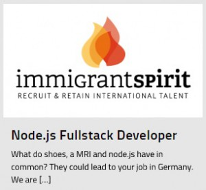 Node.Js Fullstack Developer Jobs in Germany
