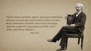 Mark Twain has good advise for international talent