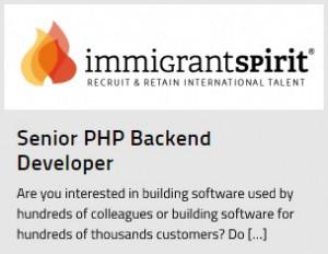 Senior PHP Backend Programmer Jobs