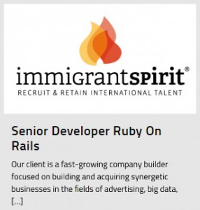 Ruby on Rails Developer Job for English Speaker