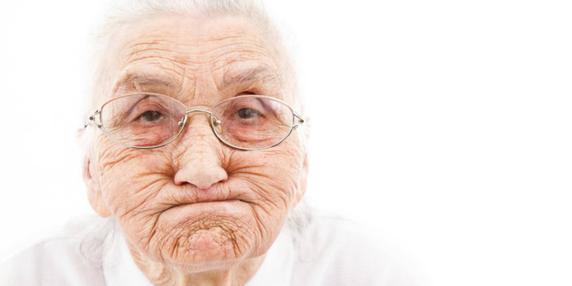 Бабка в очках 8 фотография