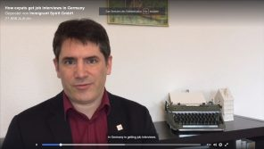 How To Get Job Interviews in Germany. Chris Pyak.