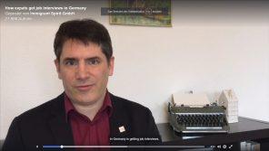 How To Get Job Interviews in Germany. Chris Pyak.