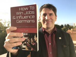 """3.000 English speaking jobs in Germany and advice from Chris Pyak, author of """"How To Win Jobs & Influence Germans""""."""